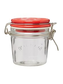 Kilner 0.35l Union Jack Ceramic Lid Clip Top Jar, Red