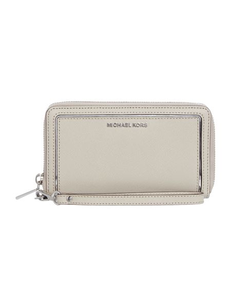 Michael Kors Frame out item grey large multi function purse