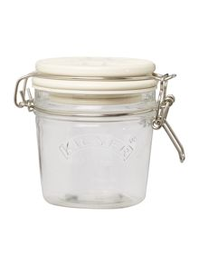 Kilner 0.35l Union Jack Ceramic Lid Clip Top Jar, White