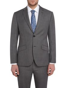 Howick Tailored Wells Slim Fit Sharkskin Suit Jacket