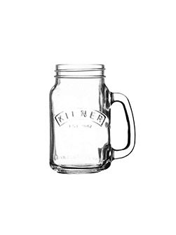 400ml Handled Jar, Clear