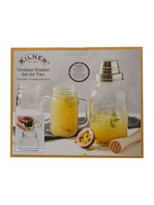 Kilner Cocktail Shaker Set, Gift Box