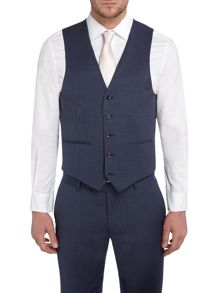 Howick Tailored Dayton Pindot Slim Fit Suit Waistcoat