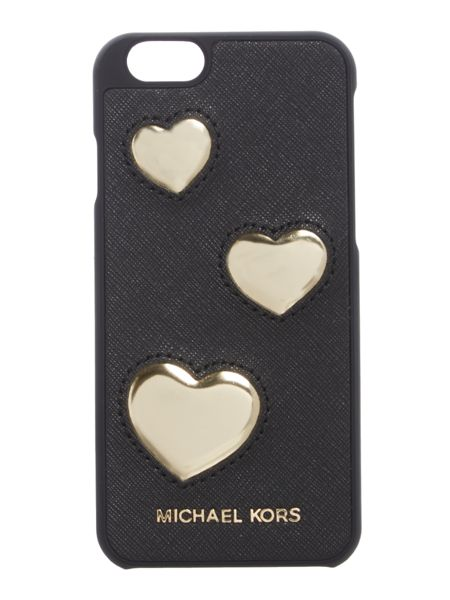 Michael Kors Black hearts iphone 6 cover