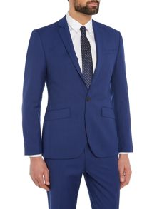 Kenneth Cole Hylan Slim Fit Pindot Suit Jacket