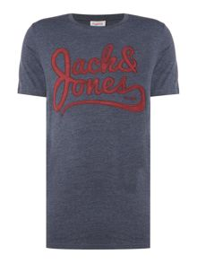 Jack & Jones Large-Logo Short-Sleeve T-shirt