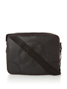 Ted Baker Embossed PU Messenger Bag