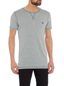 Jack & Jones Flag-Logo Crew-neck Cotton T-shirt