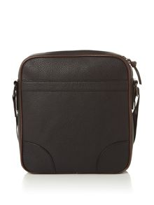 Ted Baker Embossed PU Flight Bag