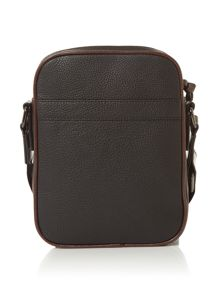Ted Baker Embossed PU Mini Flight Bag