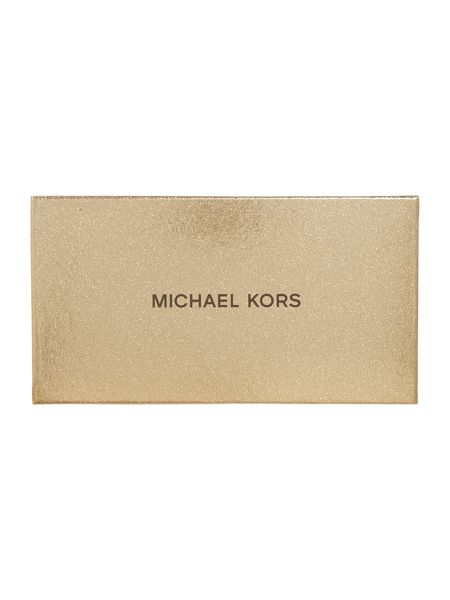 Michael Kors Black pouch and keyring gift set