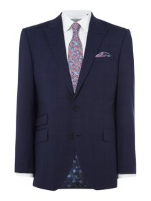 Turner & Sanderson Chatsworth Tonal Checked Suit Jacket
