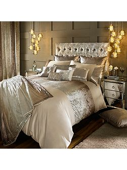 Ombre champagne housewife pillowcase