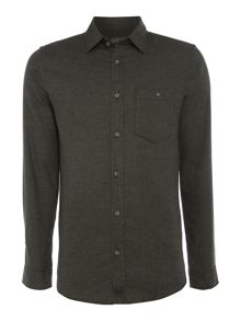 Jack & Jones Button-Through Long-Sleeve Cotton Shirt