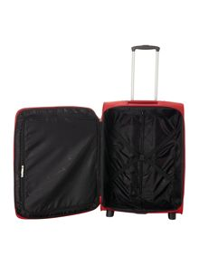 Linea Hamilton red 2 wheel soft medium suitcase