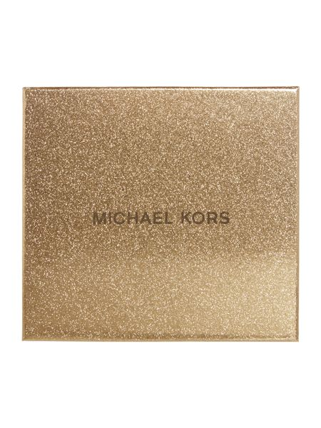 Michael Kors Black passport holder and luggage tag gift set