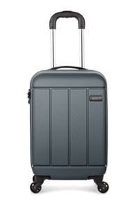 Antler Pluto charcoal 4 wheel hard cabin suitcase
