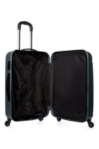 Antler Pluto charcoal 4 wheel hard medium suitcase