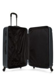 Antler Pluto charcoal 4 wheel hard large suitcase