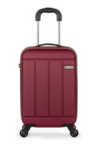 Antler Pluto red 4 wheel hard cabin suitcase