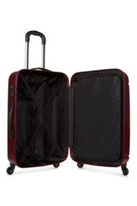Antler Pluto red 4 wheel hard medium suitcase