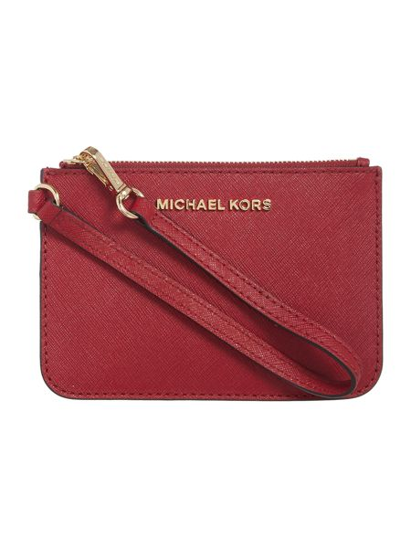 Michael Kors Red pouch and keyring gift set