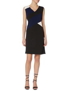 Therapy A-Line Colourblock Dress