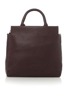 Pieces Fabriola burgundy crossbody bag