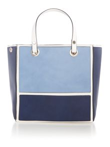 Marella REGALO colour block handbag