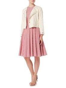 Marella LOLLY longsleeve linen mix jacket with eyelets