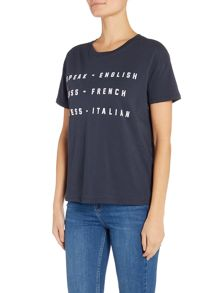 Zoe Karssen Short sleeve speak english t-shirt