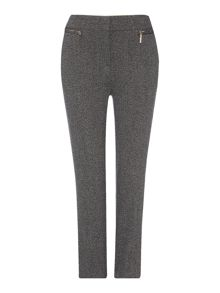 Linea Textured slim leg trouser
