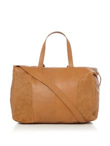 Pieces Fanny brown travel bag