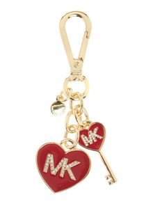Michael Kors Red heart keyring
