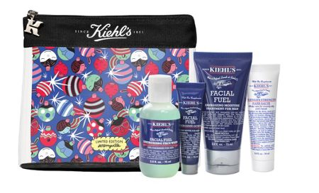 Kiehls His Facial Fuel Favourites Mens Gift Set