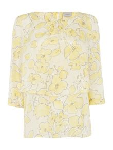 Marella LIMA Longsleeve layered soft floral top