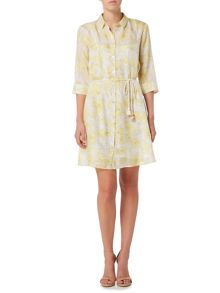 Marella RIBERA 3/4 sleeve printed wrap dress