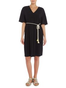 Marella GABATA crepe bell sleeve shift dress