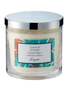Linea Tropical Escape 3 wick Candle