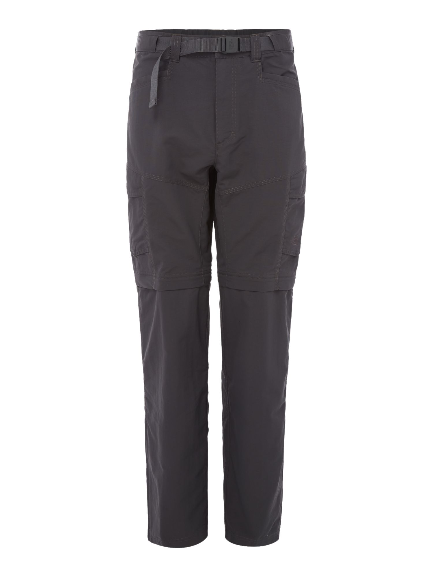 Mens The North Face Paramount peak convertible trousers Charcoal