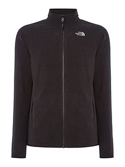 Mens 100 glacier full zip sweat