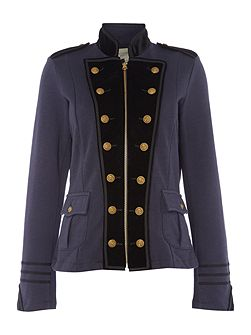 Military jacket in navy
