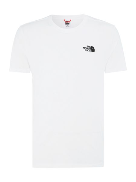 The North Face Red box print short sleeve t-shirt