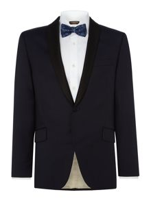 Corsivo Moesto Italian Wool Textured Suit Jacket