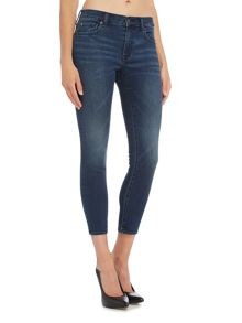 Denim and Supply Ralph Lauren Crop super skinny jean in denim dark wash