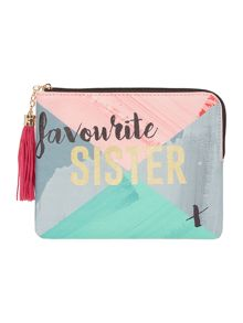 Disaster Taa Daa sister pouch
