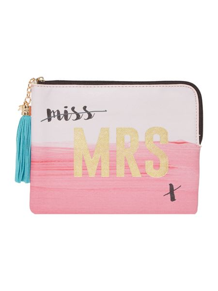 Disaster Taa Daa mrs pouch
