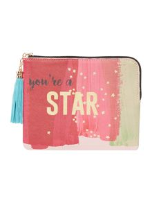 Disaster Taa Daa star pouch