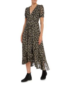 Denim and Supply Ralph Lauren Maxi wrap dress in camden floral