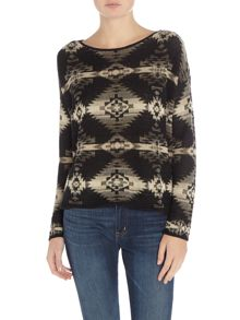 Denim and Supply Ralph Lauren Beacon print jumper